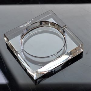 K9 Transparent Square Glass Crystal Cigar Ashtray (KS13017) pictures & photos