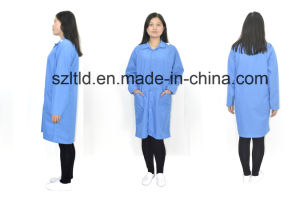 ESD Smock (turndown collar) (LTLD105-6) pictures & photos