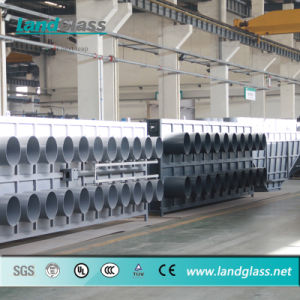 Landglass Tempered/Toughened Glass Bending Furnace Machinery pictures & photos