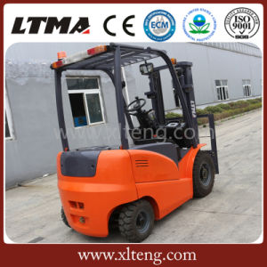 Ltma 2.5 Ton Electric Battery Forklift Truck Price pictures & photos