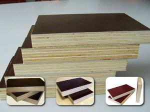 Two-Time-Hot-Press Film Faced Plywood, Timber Plywood, Construction Plywood pictures & photos