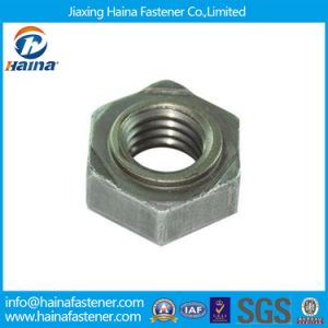 DIN929 DIN 929 Plain Finished Carbon Steel Hex Weld Nuts pictures & photos