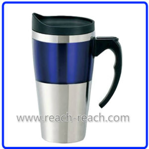 Stainless Steel Car Auto Mug, Travel Mug (R-2203) pictures & photos