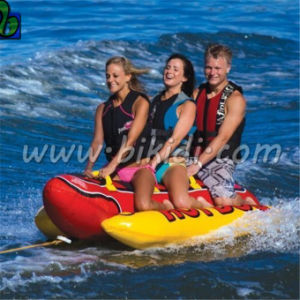 CE Approved PVC Tarpaulin Funny Inflatable Flyfish Banana Boat D3008 pictures & photos