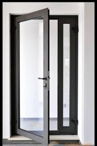 Aluminium Casement Door Opening Outside Swing Door pictures & photos