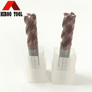 Best Quality HRC60 Tisin Coated Corner Raduis Carbide Tool pictures & photos