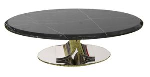 Marble Top+Stainless Steel Console &Coffee Table (GJ066) pictures & photos