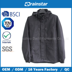 Functional Sports Wear Breathable Jacket Without Chest Logo