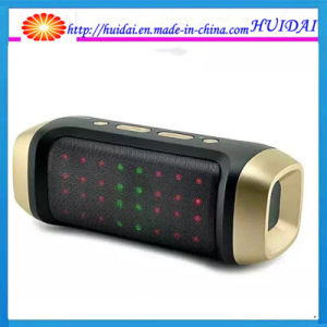 High Quality Jy-23A Dazzling LED Light Portabtle Wireless Mini Speaker with FM Mic Support U-Disk TF Card
