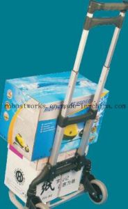 Foldable Aluminium Hand Trolley (HT060A-1) pictures & photos