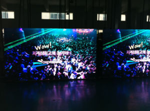P3.91 LED Display Screen for Advertisement