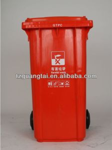 HDPE 240L Trash Container pictures & photos