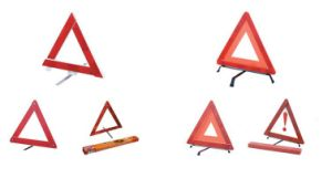 Warning Triangle Set with Safety Vest and E-MARK Approval pictures & photos
