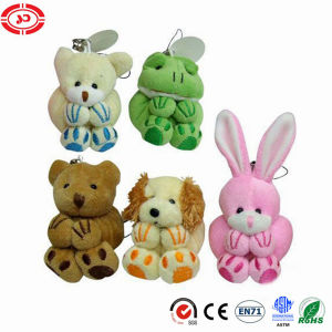 Promotional Gift Plush Cheap Stuffed Keychain Toy pictures & photos