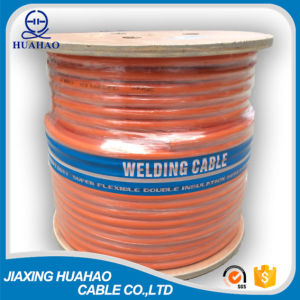 High Quality Orange PVC Welding Cable with Wooden Reel Packing pictures & photos
