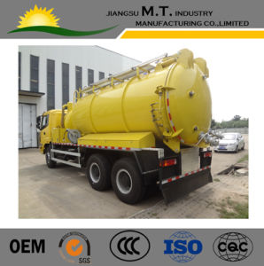 Customized Vacuum Suction Sewage Truck 16000L for Sale