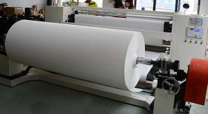 "60GSM 64"" Fast Dry Non-Curled Sublimation Paper for High Speed Ms Printer on Advertising Banners/Flags Printing pictures & photos"