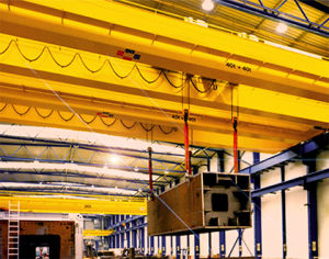 Hot Double Beams Overhead Crane for Construction pictures & photos