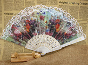 New Design Fashion Lace Hand Fan pictures & photos