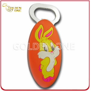Factory Supply Offset Printing Soft PVC Bottle Opener pictures & photos