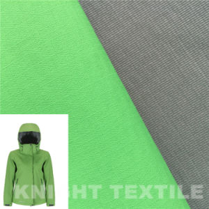 Check Polyester Fabric Composite with Knitted Fabric