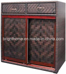 Shoe Cabinet Wicker Weaving Anti-Humidity Bp-S51 pictures & photos