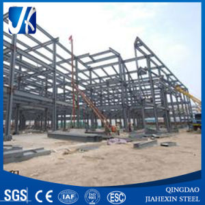 Light Prefabricated Galvanized Steel Construction Workshop pictures & photos