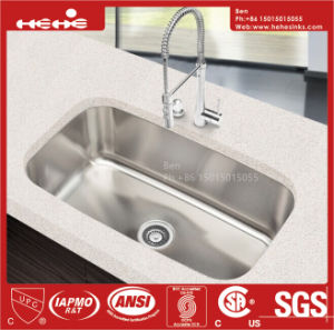 Stainless Steel Large Size Single Bowl Sink pictures & photos