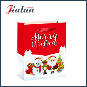 Merry Christmas & Happy New Year Shopping Carrier Gift Paper Bags pictures & photos