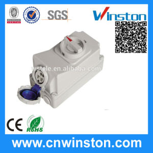 Interlock Switch Socket with CE pictures & photos