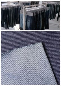 Washed Cotton Denim Fabric for Jeans 12oz pictures & photos