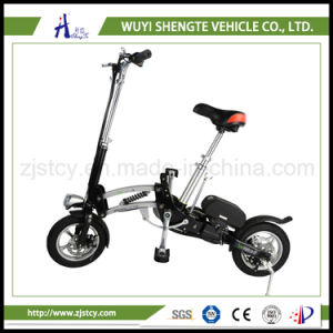 350W One Second Folding Design 12inch Mini Electric Scooter /Ebike pictures & photos