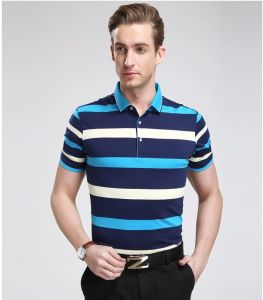 OEM 2015 Fashion Design High Quality Polo Shirt for Men pictures & photos