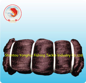 Nylon Multfilament Fishing Net with Brown Color pictures & photos