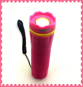 Mini Colorful LED Torch for Camping pictures & photos