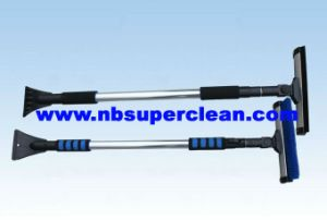 Extendable Snow Brush with Rubber Wiper, Telescopic Snow Brush (CN2258) pictures & photos