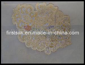 Fstl03 Silk Lurex Fabric pictures & photos