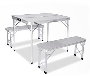 Aluminum Folding Table with Chair 90*50*68 (etc-130-14) pictures & photos