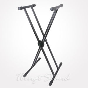 Heavy-Duty Double-X Keyboard Stand (TKB107) pictures & photos