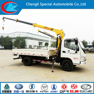 New Model Foton 4X2 Crane Mounted Truck for Sale (CLW1900) pictures & photos