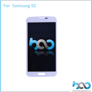 Original LCD Display for Samsung Galaxy S5 I9600 with Touch Screen pictures & photos