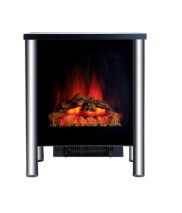 European Style Mini Free Standing Electric Fireplace