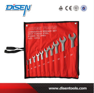 10PCS Matt Finish Open End Wrench Tool Set pictures & photos