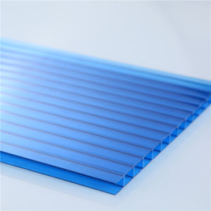 Ge Twin Wall Hollow Polycarbonate Sheet pictures & photos