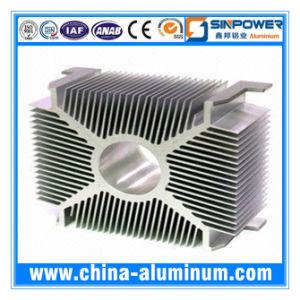 Aluminum 6000 Series Extruion Radiator LED Light Heatsink
