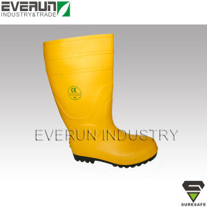 CE EN ISO 20345 PVC boots Mining boots Safety boots pictures & photos