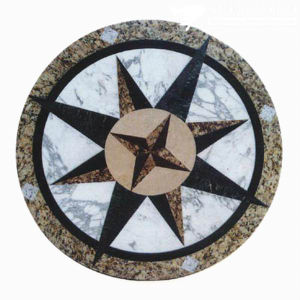 Marble Stone Mosaic Medallion for Wall / Floor Decoration pictures & photos