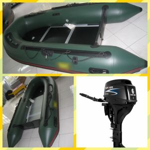 3.2m Military Inflatable Boat with Outboard Motor pictures & photos