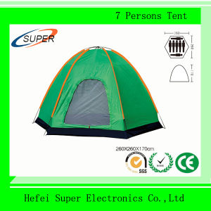 12 Persons 180T Polyester Camping Tent pictures & photos