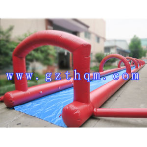 Giant Inflatable Slide/Inflatable Long Water Slide/Giant Dragon Water Slide pictures & photos